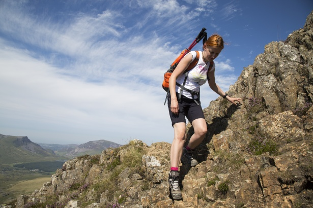 Workout Wallpaper Hd Woman Hiker With Backpack Free Stock Photo Public Domain