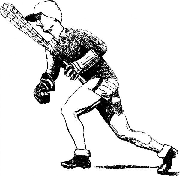 Lacrosse Player Clip Art Free