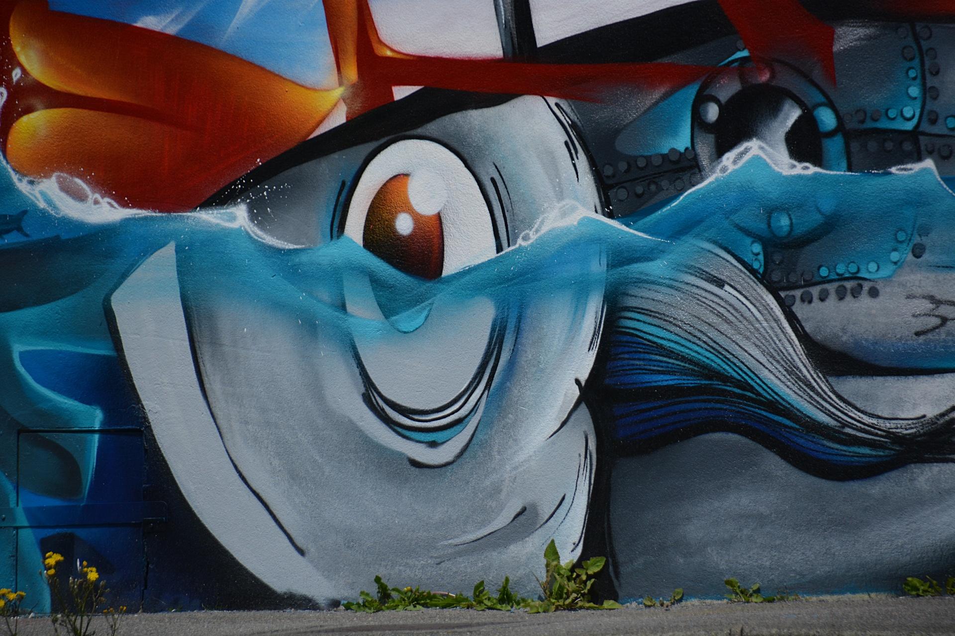 Murals, Outside Art, Exterior Murals