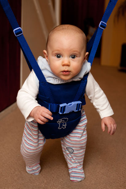 Baby In A Bouncer Free Stock Photo  Public Domain Pictures