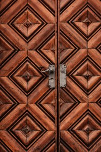 Heavy Wooden Door Free Stock Photo - Public Domain Pictures