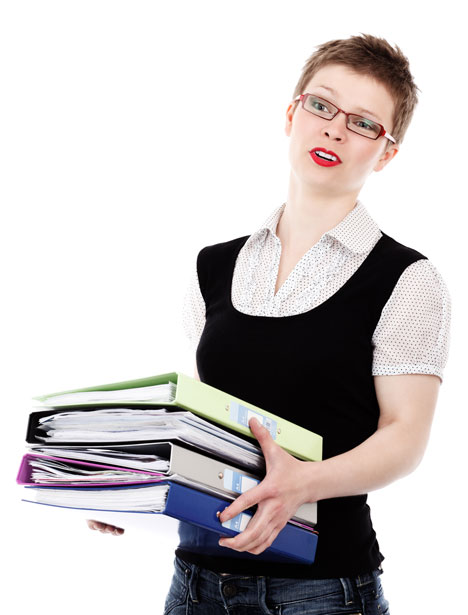 Unhappy Office Worker Free Stock Photo  Public Domain