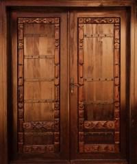 Carved Wooden Door Free Stock Photo