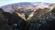 South Rim - Grand Canyon Panorama Free Stock