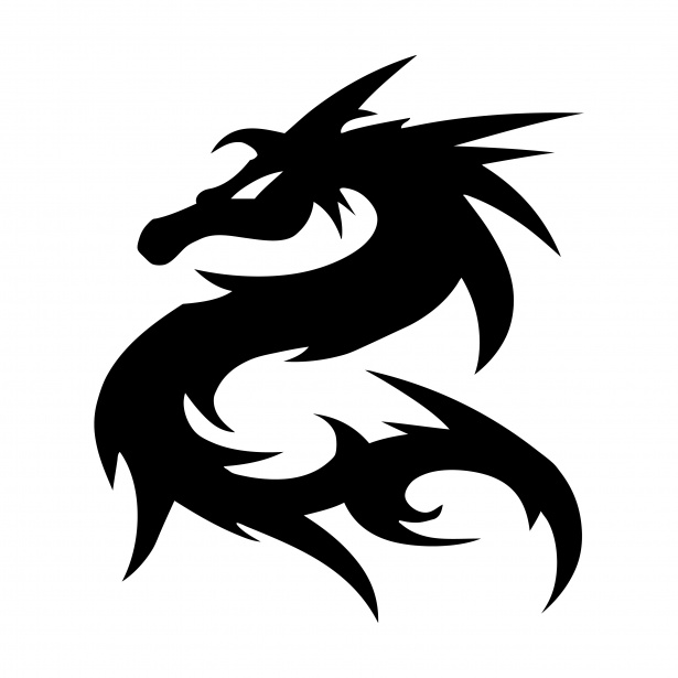 Roblox Car Wallpaper Dragon Logo Symbol Silhouette Free Stock Photo Public
