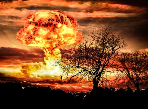 Nucleare esplosione di una bomba Immagine gratis - Public Domain Pictures