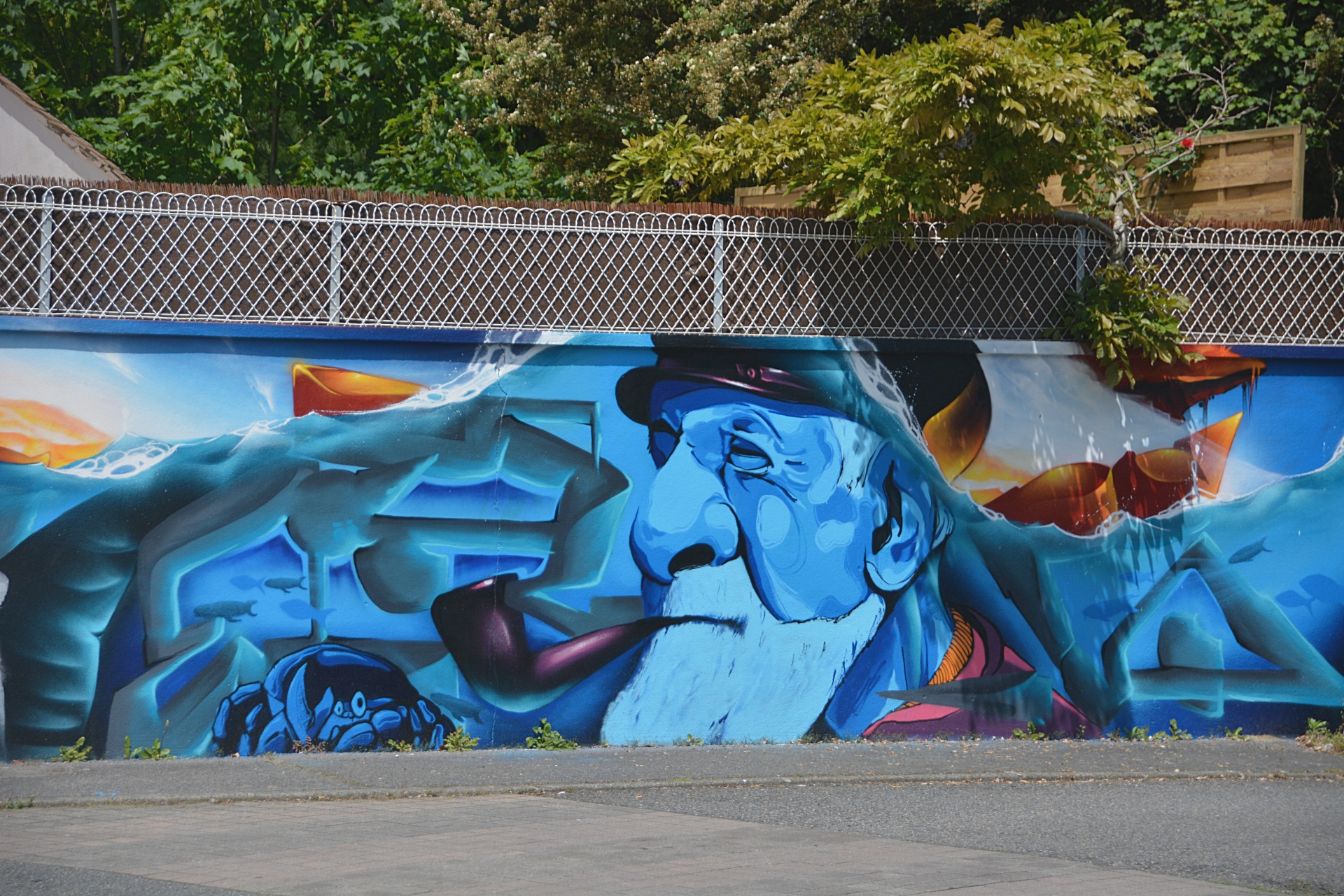 Murals, Outside Art, Exterior Murals