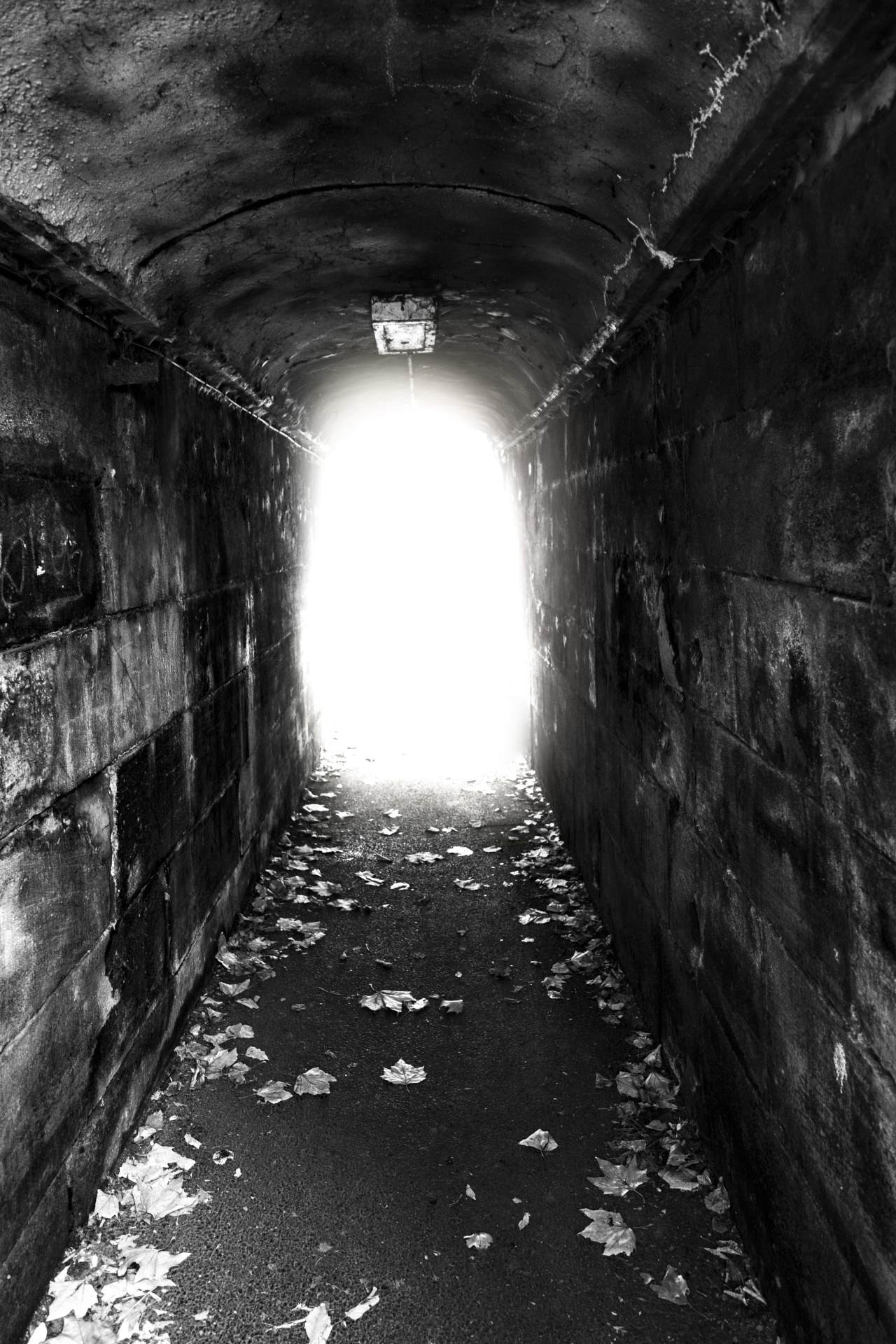 tunnel, discouragement, encouragement, fear, despair, hope