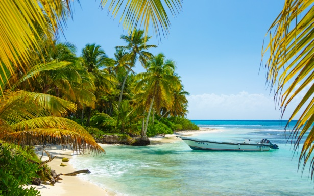 Fall Desktop Wallpaper Images Boat In Caribbean Free Stock Photo Public Domain Pictures