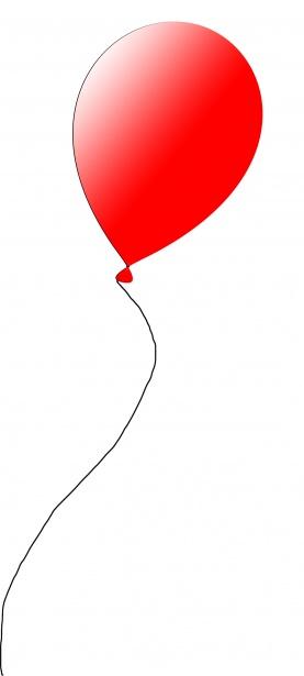 red balloon free stock