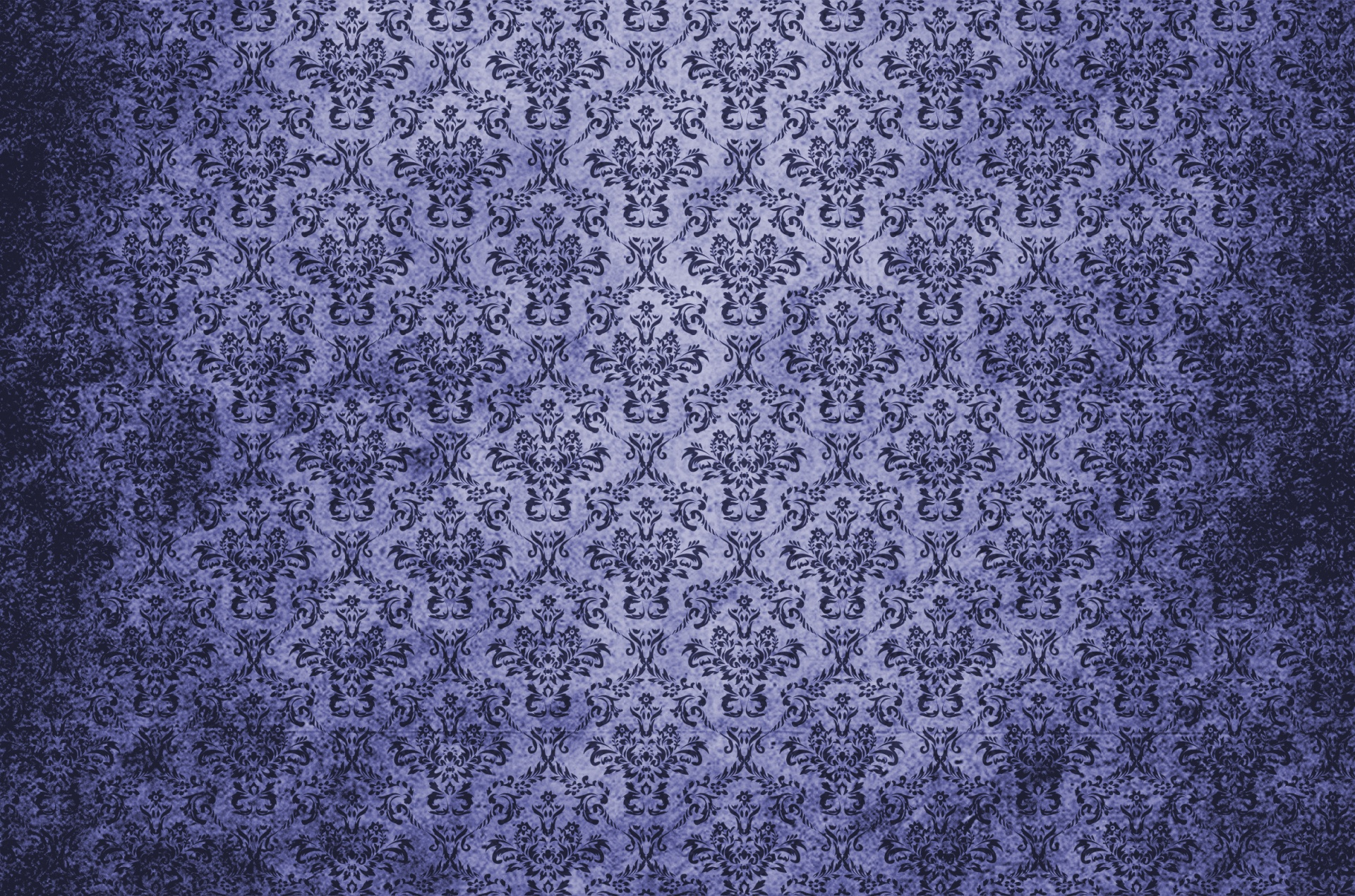 Fall Colors Computer Wallpaper Damask Vintage Background Blue Free Stock Photo Public