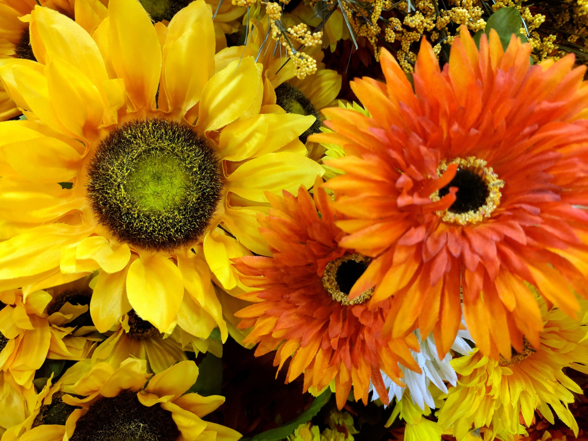 Fall Desktop Wallpaper With Sunflowers Autumn Flowers Background Free Stock Photo Public Domain