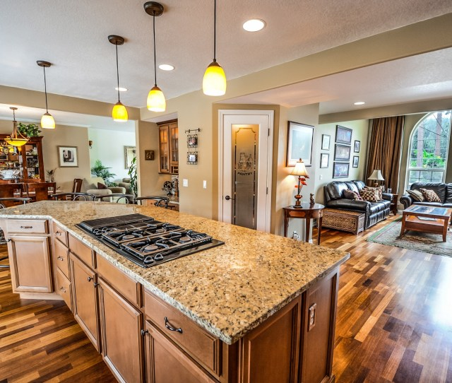 Kitchen In Upscale Home