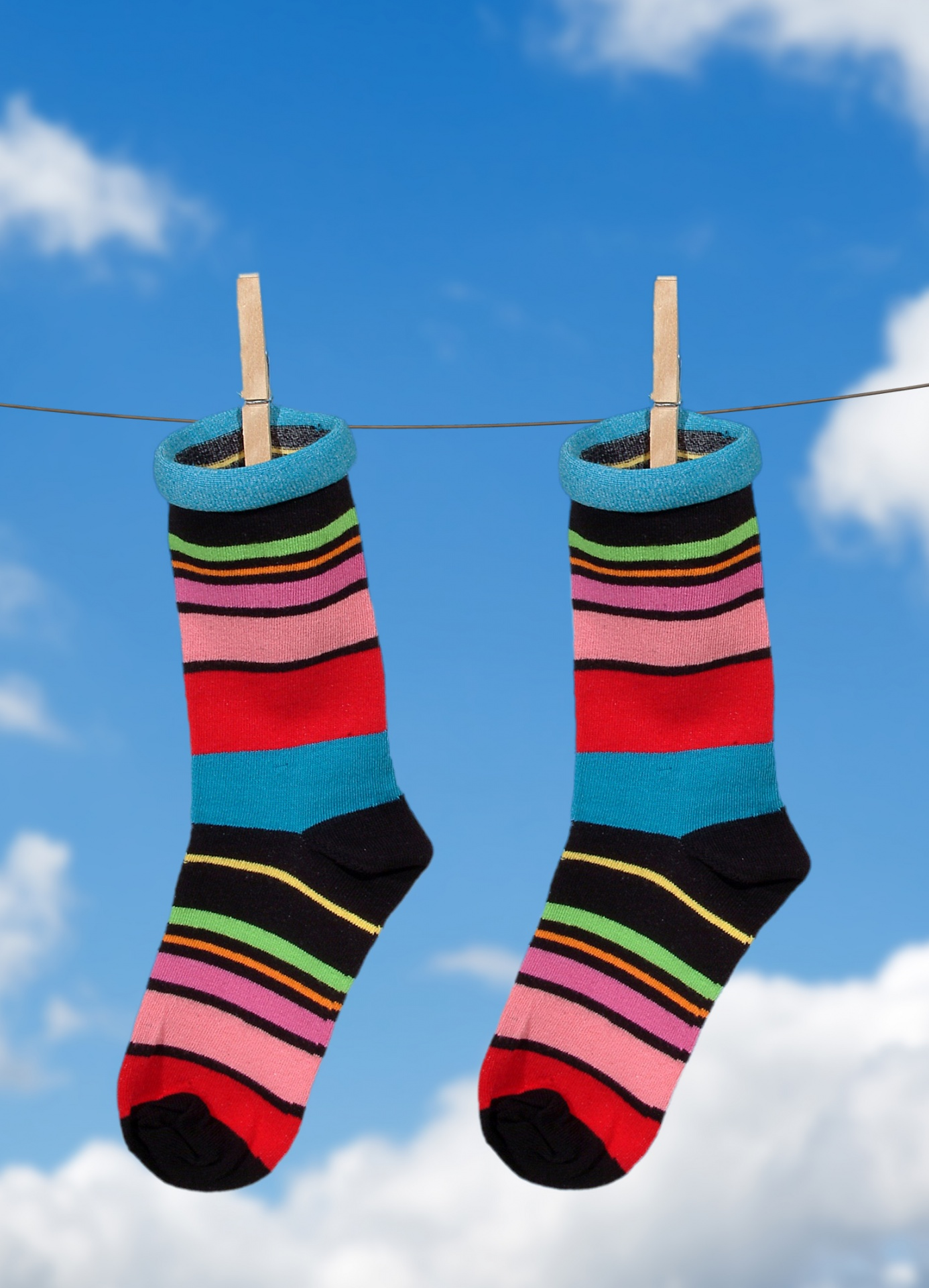 Image result for hanging socks