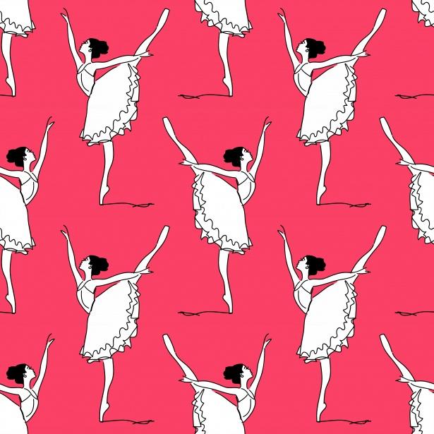 Latest Wallpaper Girl Ballet Dancer Illustration Backdrop Free Stock Photo