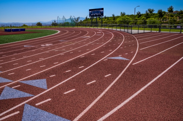 Track And Field Lanes Background Free Stock Photo Public Domain Pictures