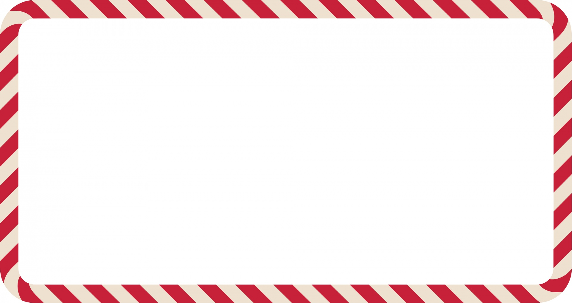 Candy Cane Frame Landscape Free Stock Photo