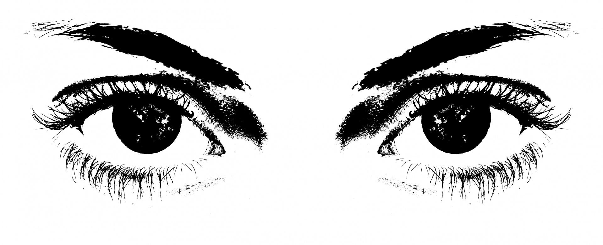 Eyes Illustration Clipart Free Stock Photo