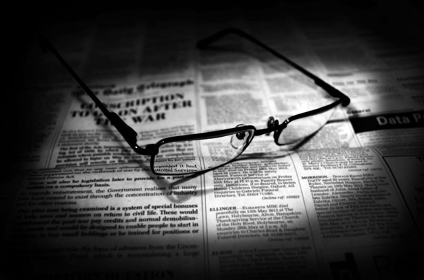 Newspapers And Glasses Free Stock Photo  Public Domain