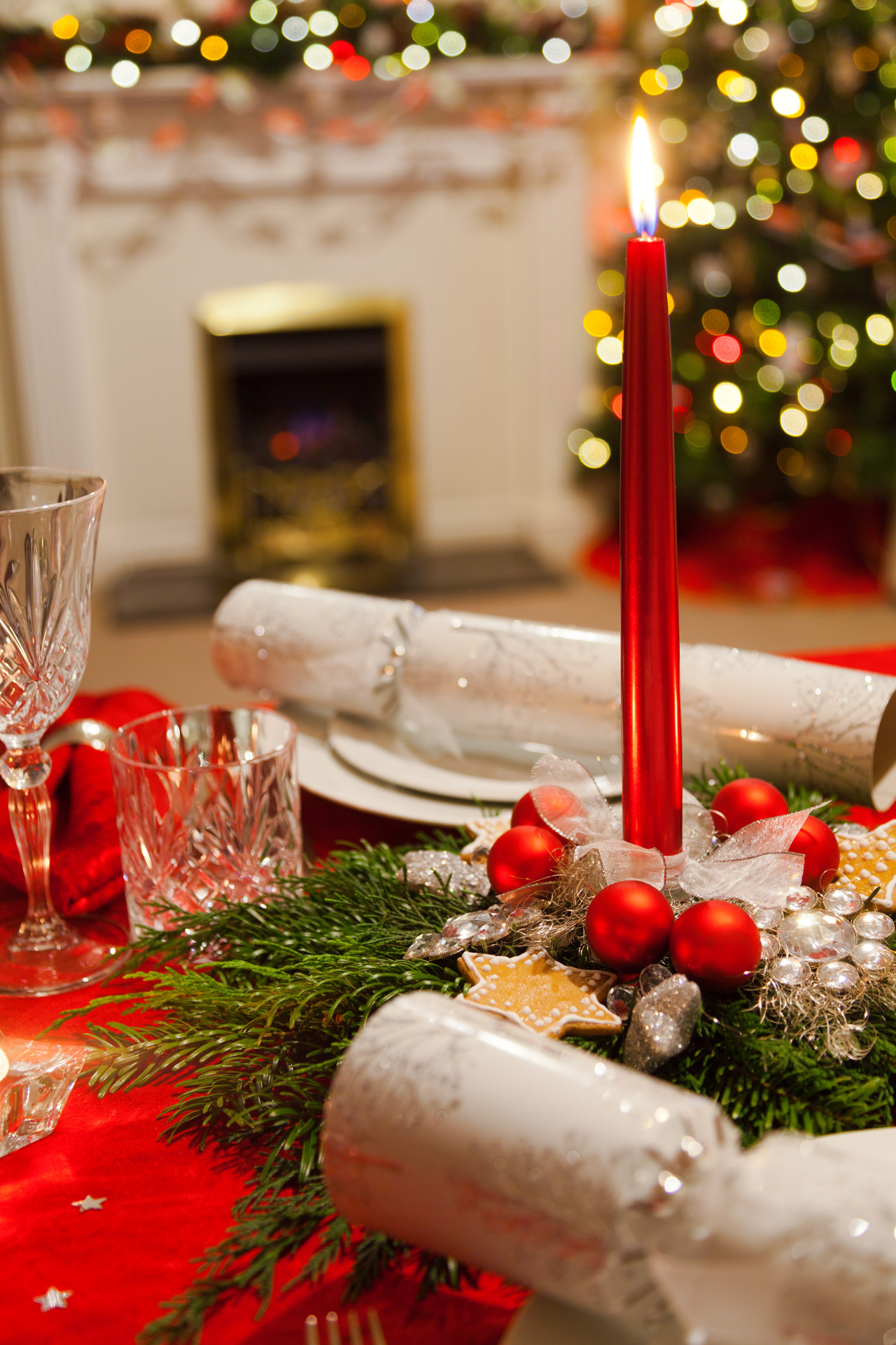 Christmas Table Free Stock Photo Public Domain Pictures