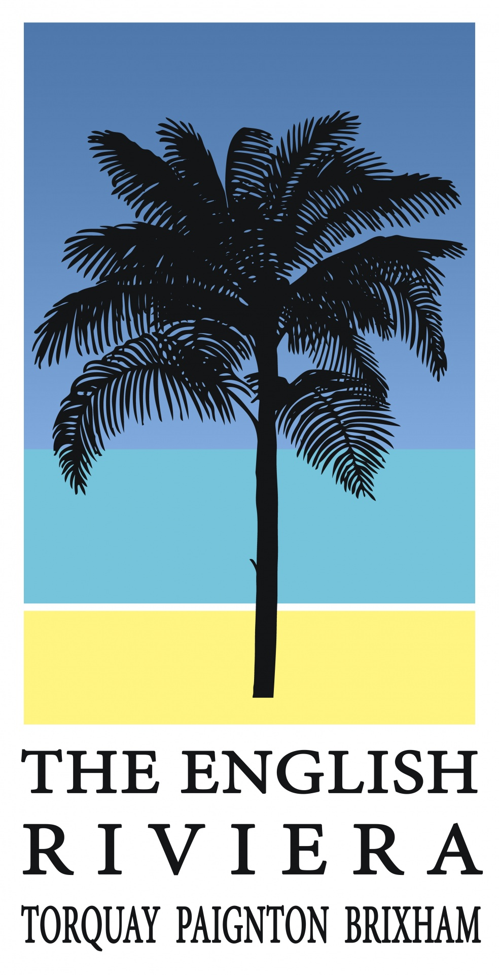 Palm Tree Travel Poster Free Stock Photo - Public Domain Pictures