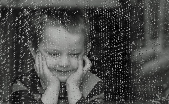 Child And Rain Free Stock Photo Public Domain Pictures