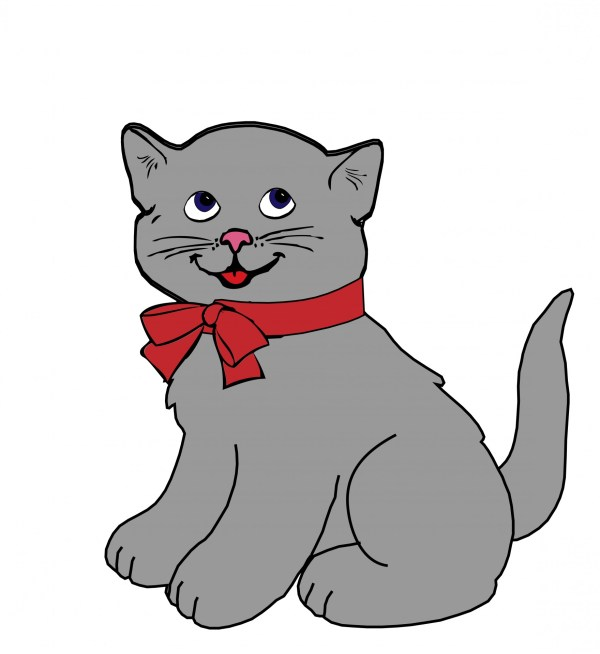 kitten cat clipart free stock