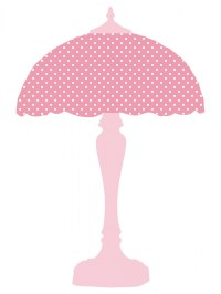Pink Polka Dots Lamp Shade Free Stock Photo - Public ...
