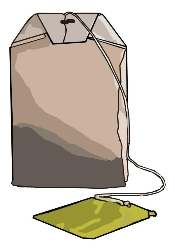 Tea Bag Clip Art Free Stock - Public Domain