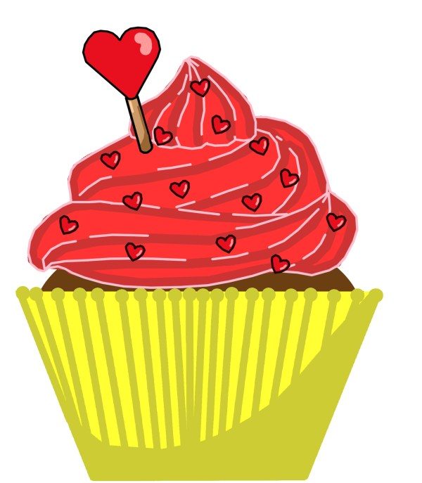 vintage cupcake clipart cake ideas