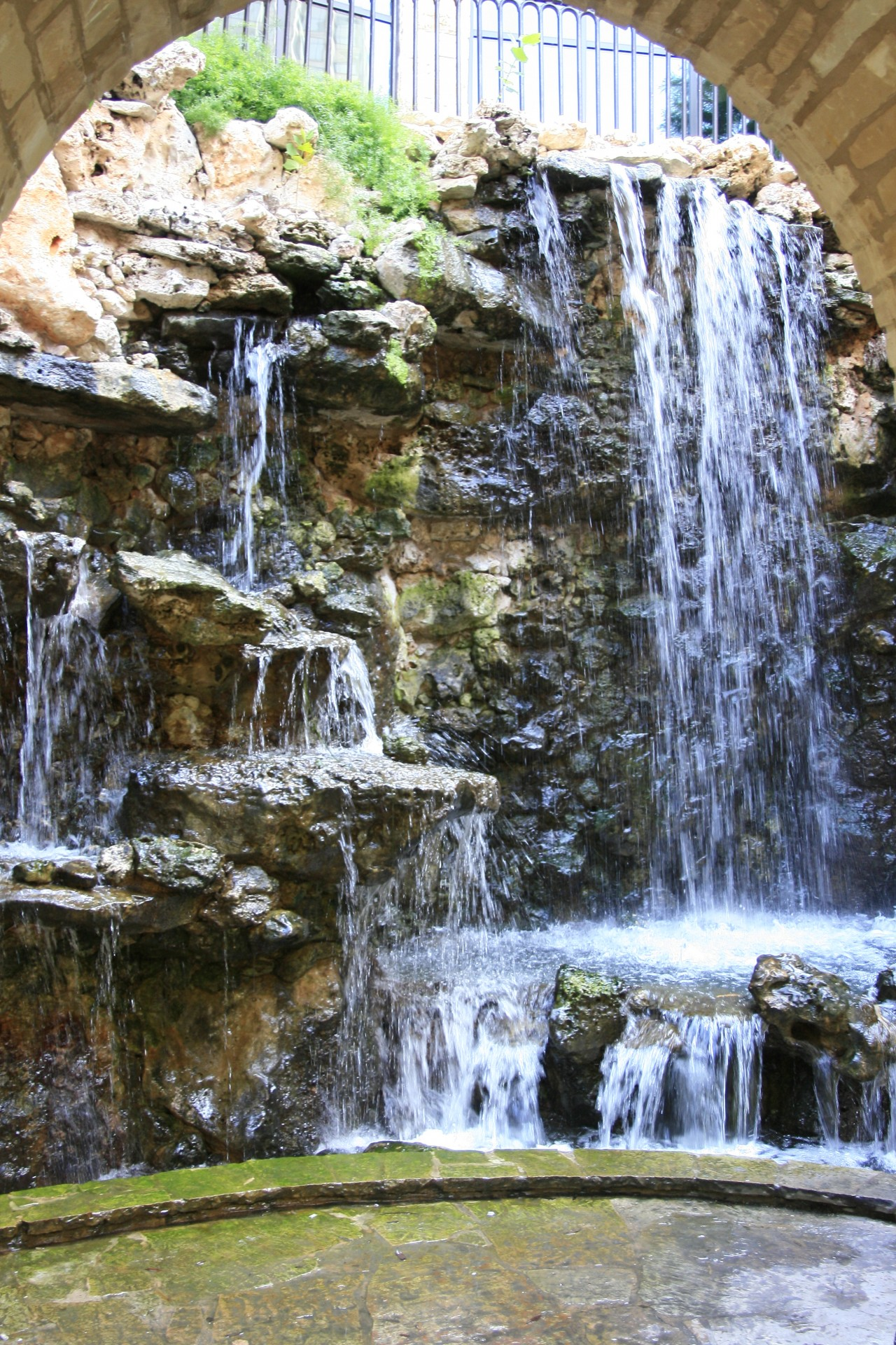 waterfalls, reflect, tranquility