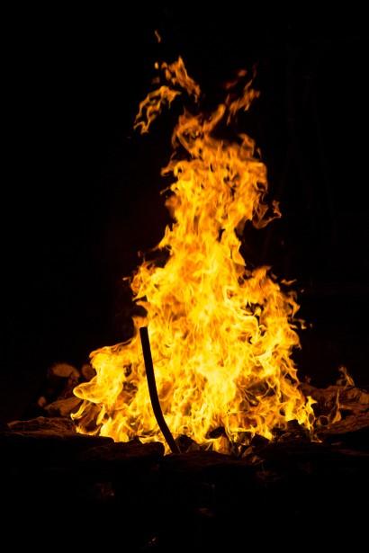 Fire Pit Flames Free Stock Photo Public Domain Pictures