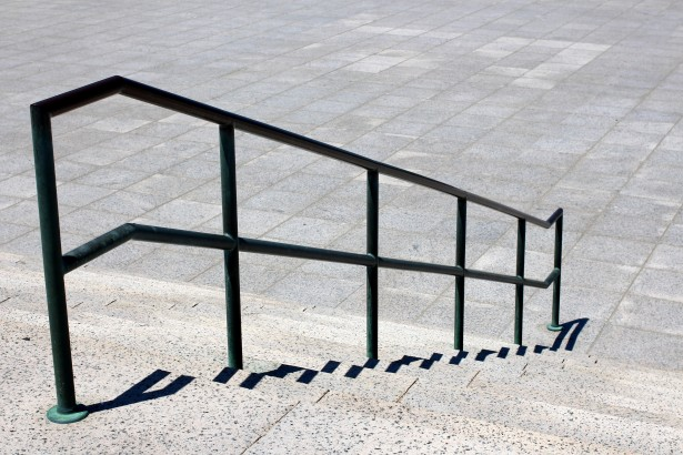Stairs And Railing Free Stock Photo  Public Domain Pictures