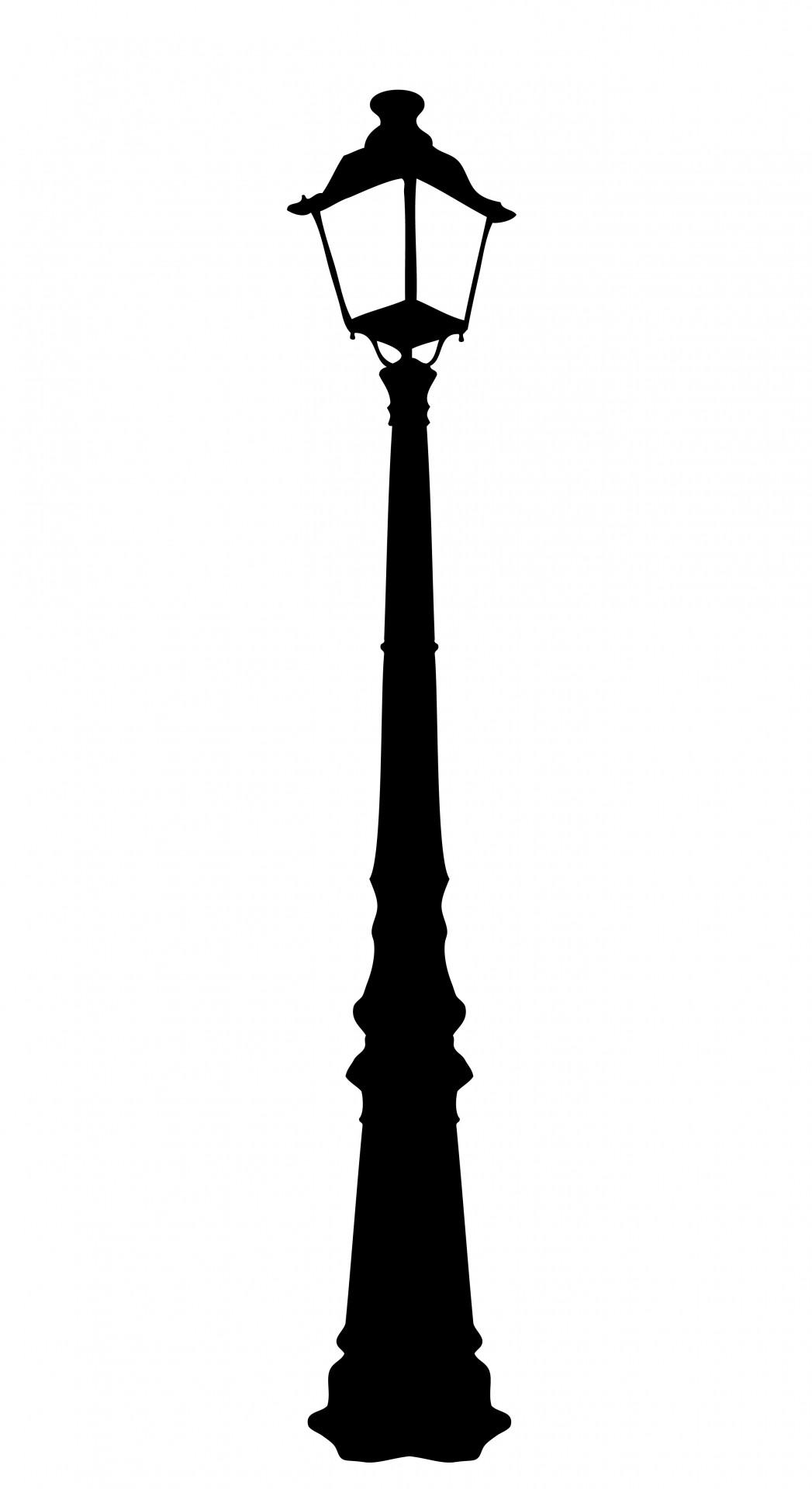 Vintage Street Lamp Clipart Free Stock Photo