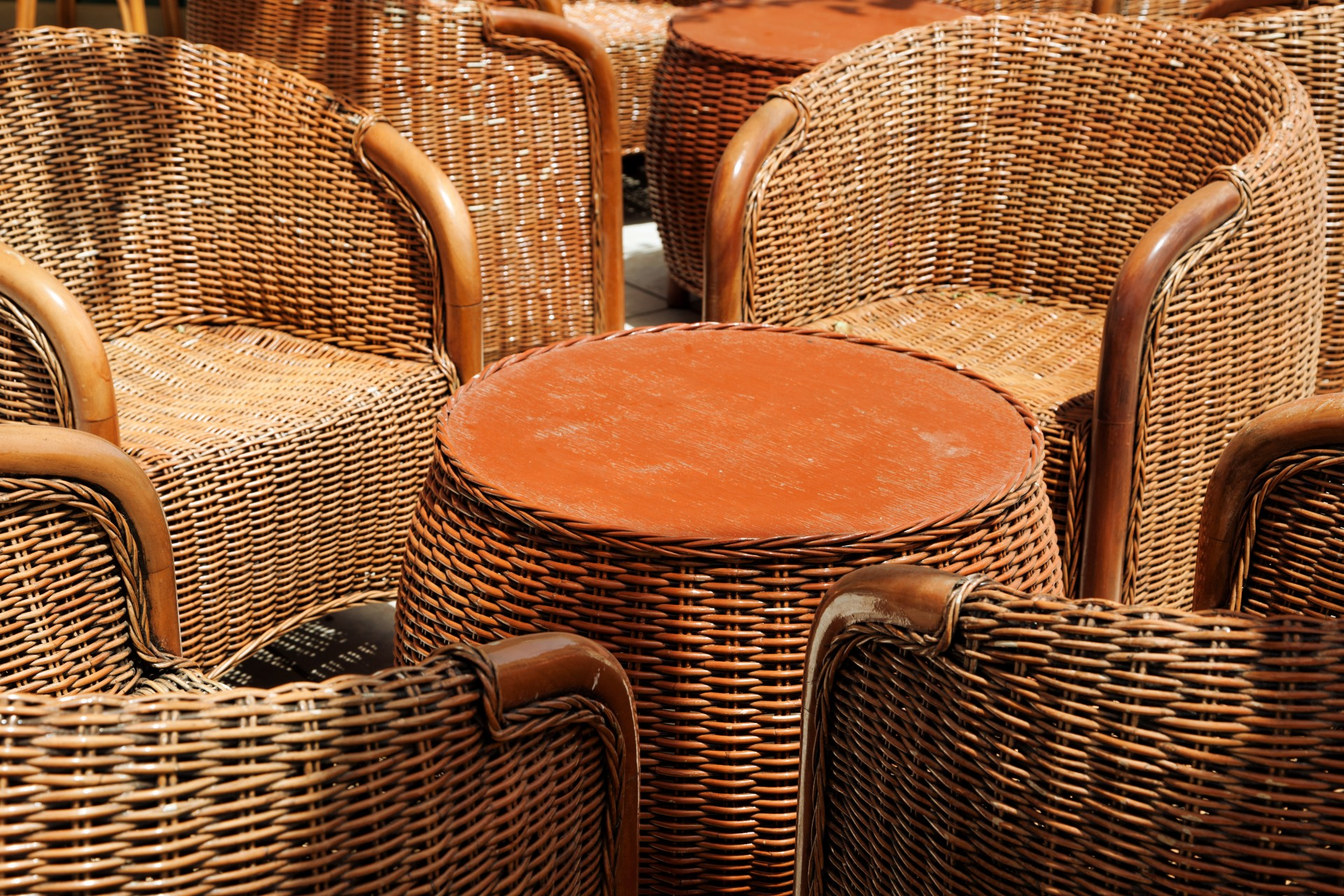 Wicker Furniture Free Stock Photo  Public Domain Pictures
