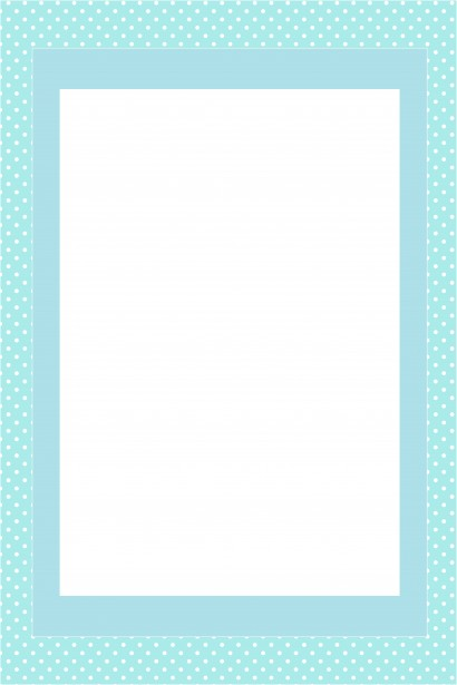 Blue Invitation Card Frame Free Stock Photo Public