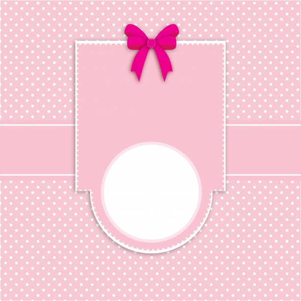 Card Invitation Polka Dots Pink Free Stock Photo Public Domain Pictures