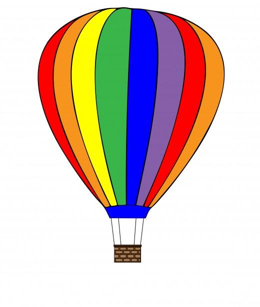 hot air balloon clipart free stock