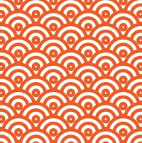 Japanese Wave Pattern Wallpaper Free Stock Photo