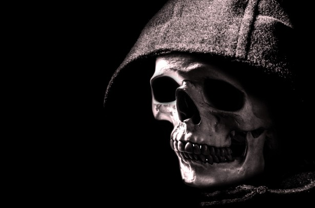 Gangster Girls And Guns Wallpaper Skull And Hood Free Stock Photo Public Domain Pictures