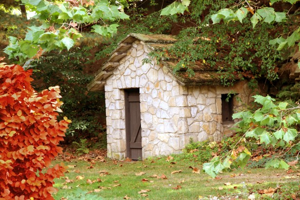 Stone Hut In Woods Free Stock Photo  Public Domain Pictures