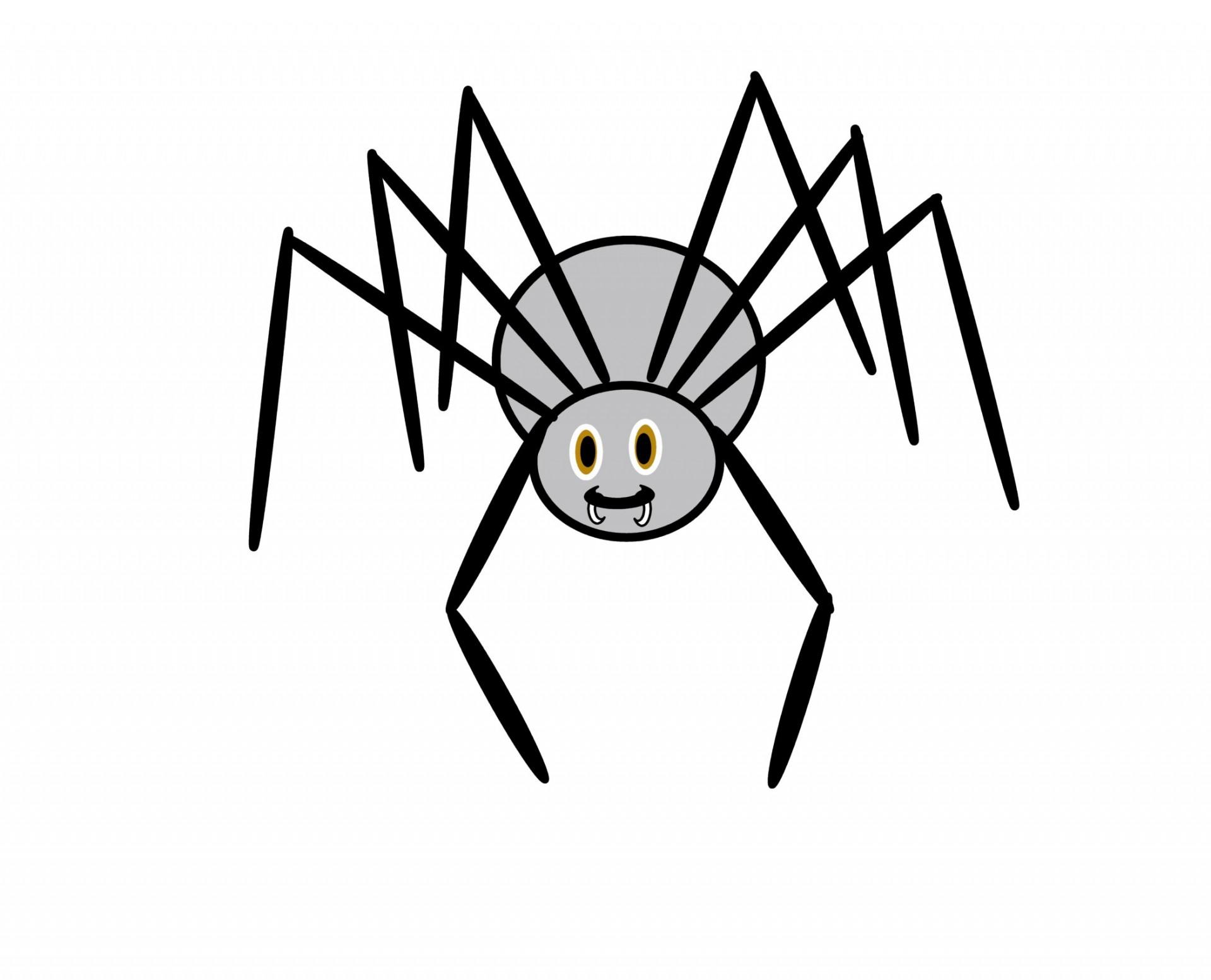 Clip Art Spider Free Stock Photo