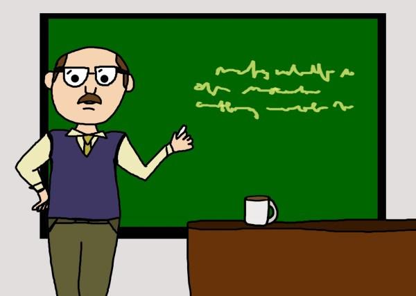 Male Teacher Cartoon Free Stock - Public Domain