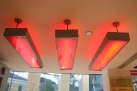 Red Ceiling Lights Free Stock Photo - Public Domain Pictures