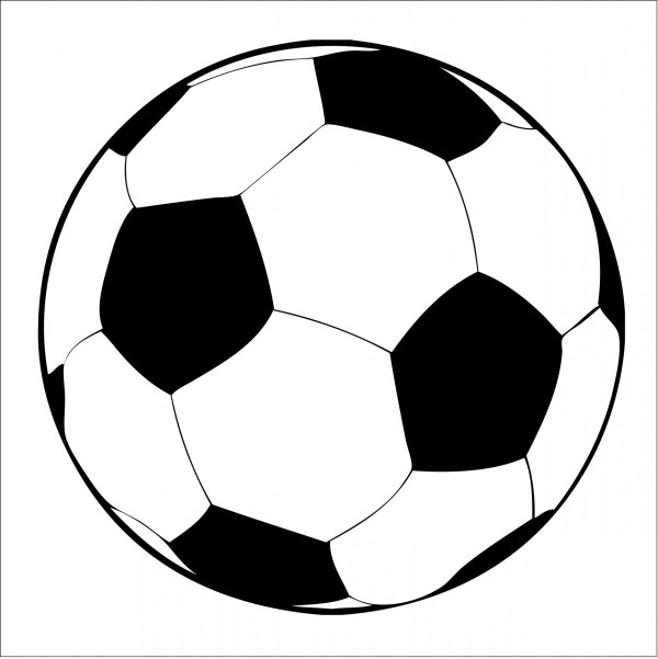 soccer ball clipart free stock