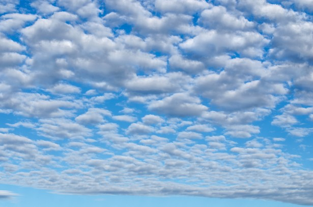 Blue Sky With Cloud Free Stock Photo