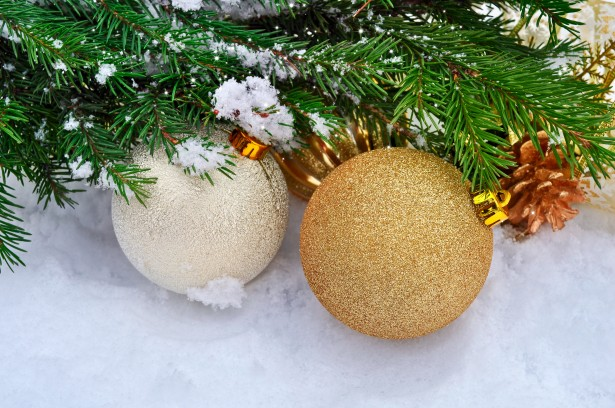 Happy New Year And Merry Christmas Free Stock Photo