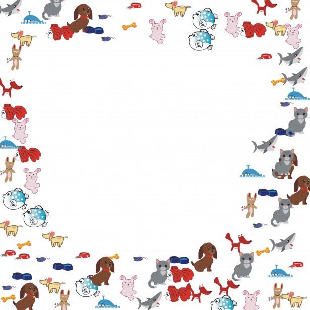 animal frame free stock