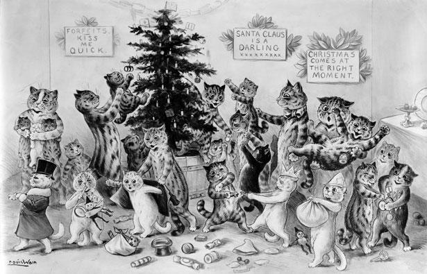 Louis Wain Cats Poster 2 Free Stock Photo Public