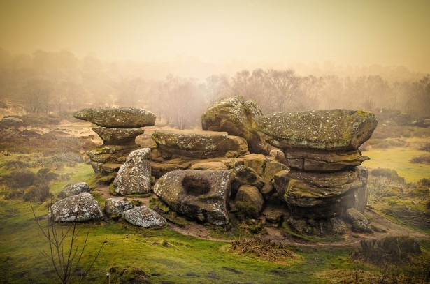 Rocks And Fog Free Stock Photo Public Domain Pictures